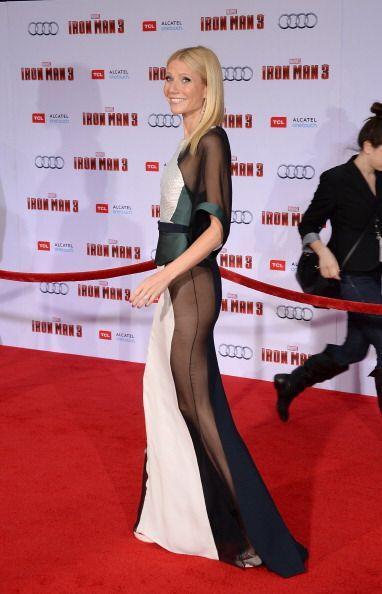 ¡Otra que no necesitó bragas para complementar su 'outfit'...