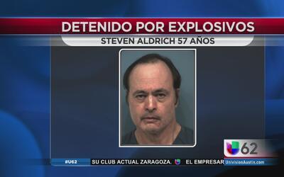 Detenido por fabricar explosivos en casa