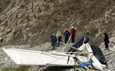Accidente aéreo en el norte de México. (Imagen de Archivo).