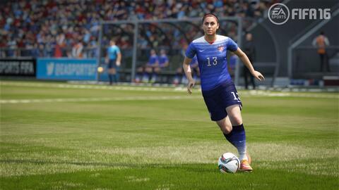 Alex Morgan en FIFA 16