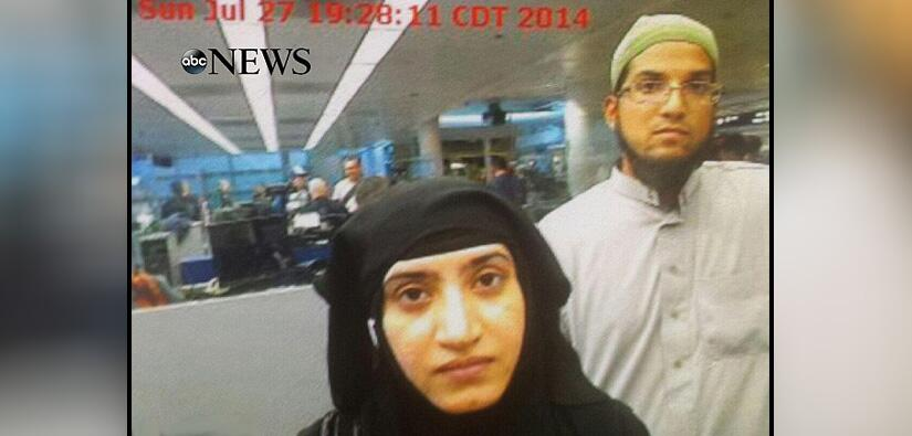 La foto de los sospechosos entrando a los Estados Unidos