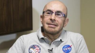El primer astronauta mexicano Rodolfo Neri Vela.
