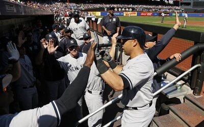 Yankees ganan a Mets.