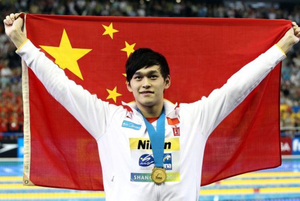 El segundo escalón del podio lo ocupó China, con 36 medallas pero sólo 1...