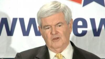 Gingrich continúa cortejando el voto latino, con miras en Carolina del S...