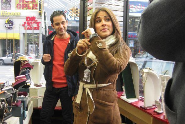 Jackie sí que es una buena vendedora.