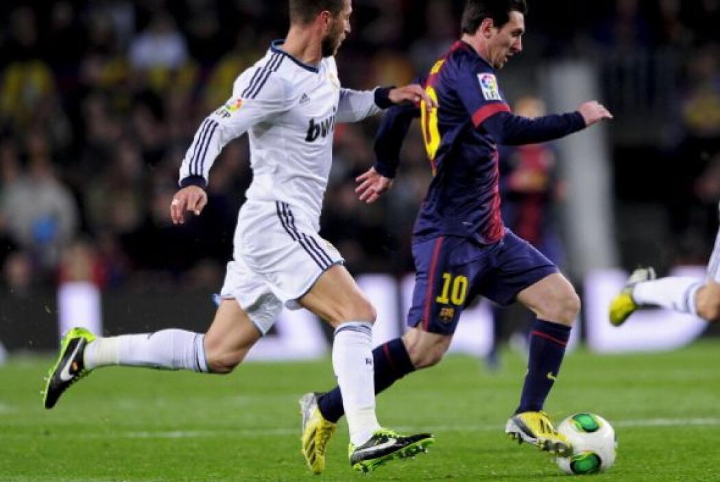Messi estuvo bien marcado y no gozó de muchas posibilidades.