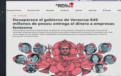 Denuncias de empresas fantasmas en Veracruz