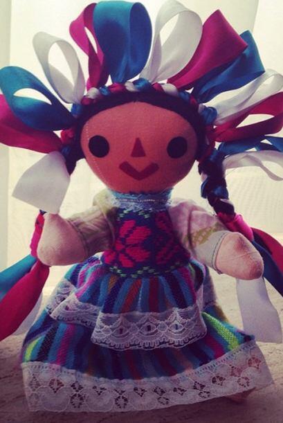 Aprovechando su visita a la Ciudad de México, Ana Patricia compr&...