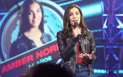 Amber Norman se describe como una chica habladora y perseverante