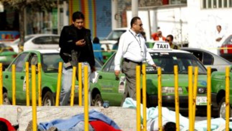 La ola de violencia en México producto del crimen organizado no ha dado...