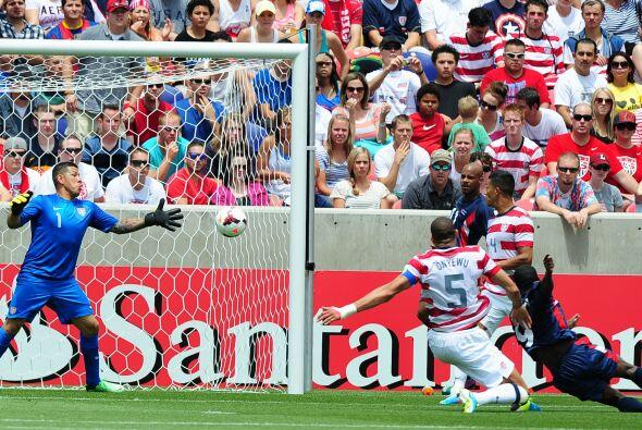 Minutos después Cuba sorprendería a propios y extraños con su gol tras u...