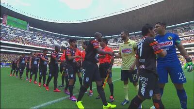 Victoria para las Águilas del América por 2-1 sobre Pachuca