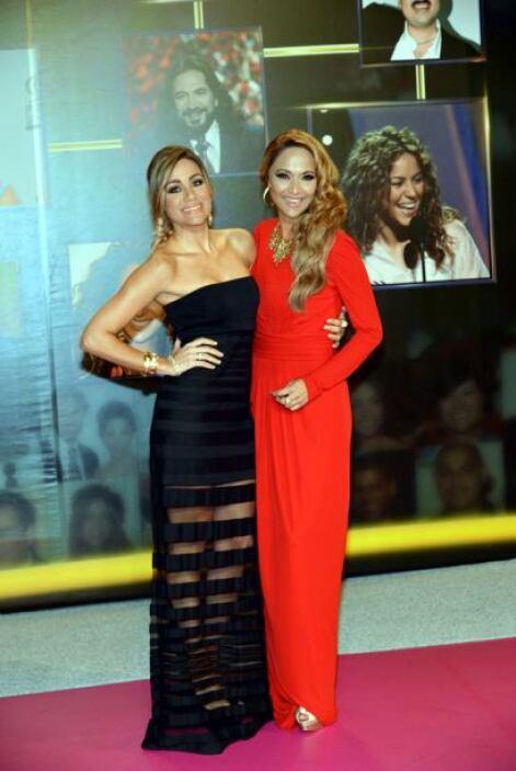 Verónica Bastos y Gloria Ordaz de Noticias 23 Miami.