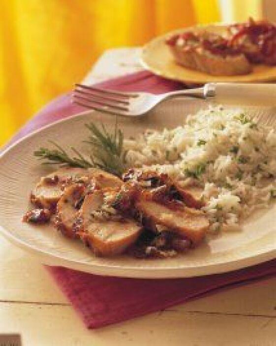 Filetes de pavo glaseados con ciruela: Una receta que te hará lucir con...