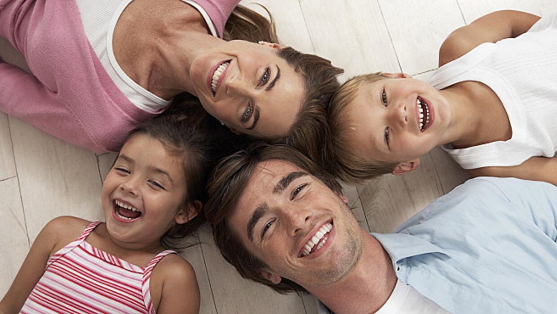 Balancing parenting roles.