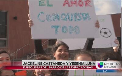 Estudiantes del Barrio de las Empacadoras participan en semana de actos...