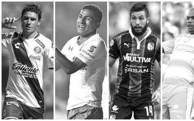 Ellos son los jugadores que están suspendidos para esta jornada.