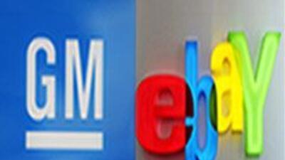 GM venderá autos en eBay.