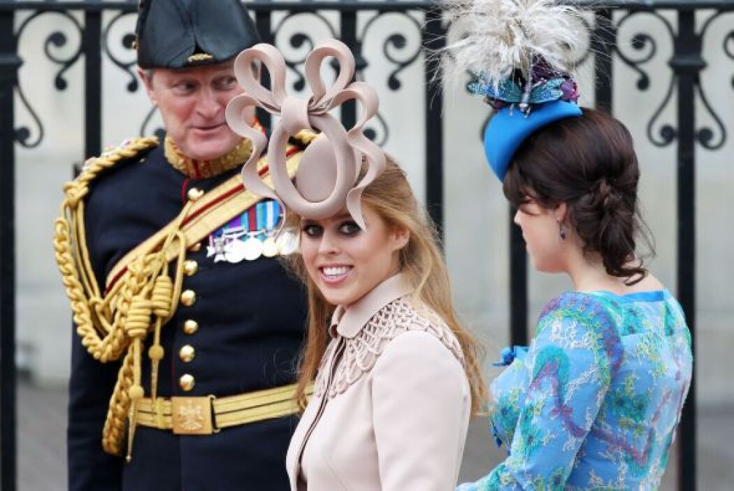 Las hijas de los príncipes Andres y Sara parecían haber escogido los dos...