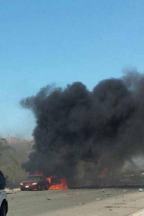 Este incidente es el segundo accidente que se ha registrado en la base m...