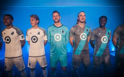 Minnesota United uniformes 2017