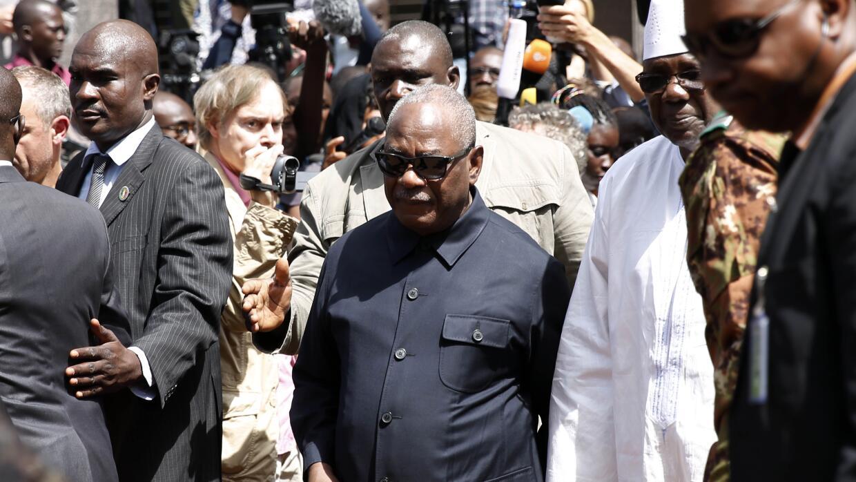 Ibrahim Boubacar Keita, presidente de Mali.