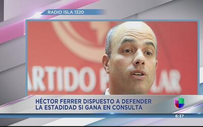 ¿Héctor Ferrer ahora es estadista?