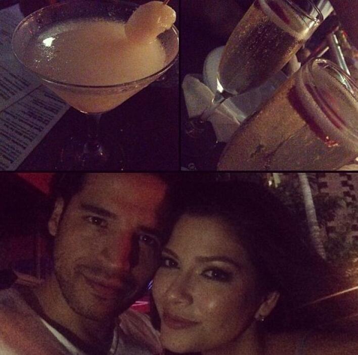 """""""Date night con mi amor"""", compartió Ana Patricia. (Agosto 23, 2013)"""