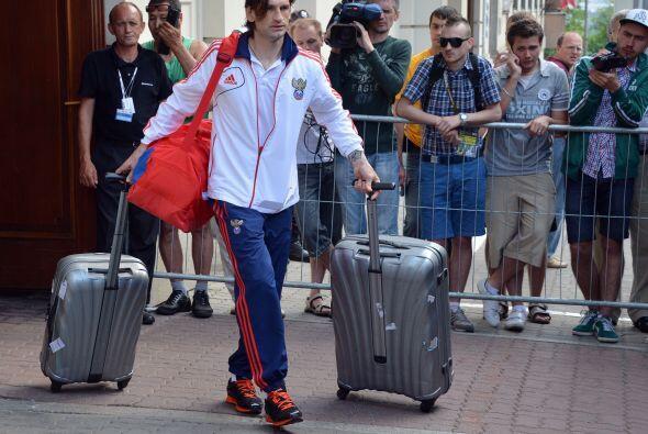 Los rusos hicieron su maleta tras ser eliminados de la Eurocopa por los...