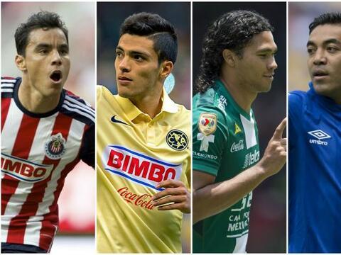 El delantero del América es en la actualidad el goleador mexicano más re...