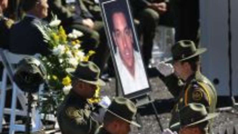 El agente de la Patrulla Fronteriza, Brian Terry, murió en diciembre de...