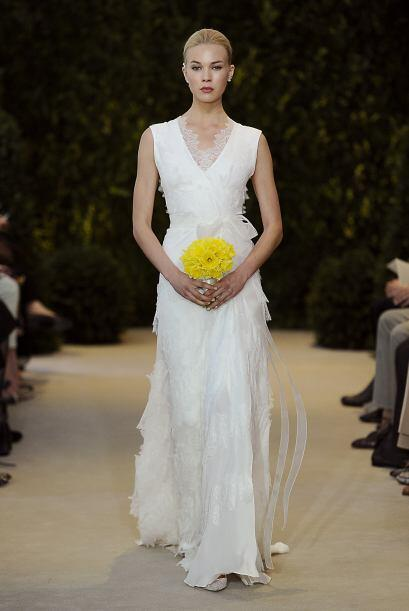 Listones: Siempre harán que una novia tenga un aspecto romántico, inclus...