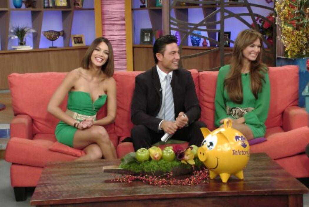 Aprovechando su visita, Fernando y Blanca contaron cómo celebraran el dí...