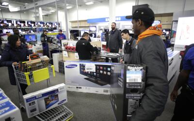 Best Buy de Illinois durante Black Friday