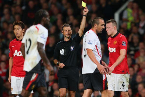Giggs y Henderson estuvieron a punto de irse a las manos y el árbitro re...