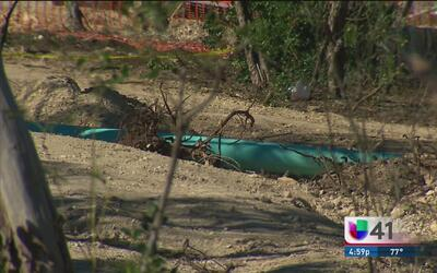 Un accidente en un sitio de construcción al oeste de San Antonio deja a...