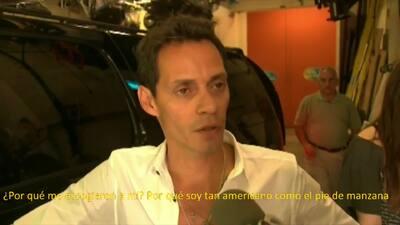 Marc Anthony reaccionó a críticas por cantar God Bless America