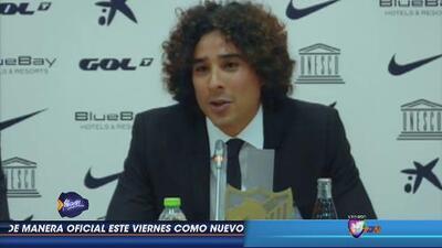 Guillermo Ochoa: 'Jugar en la Liga Española es un sueño cumplido'
