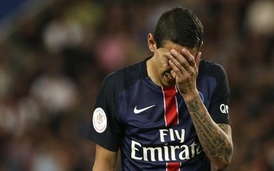 Ángel di María no pudo ayudar al PSG a conseguir la victoria.