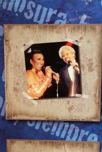 Celia Cruz y Johnny Pacheco hace unos a?os...