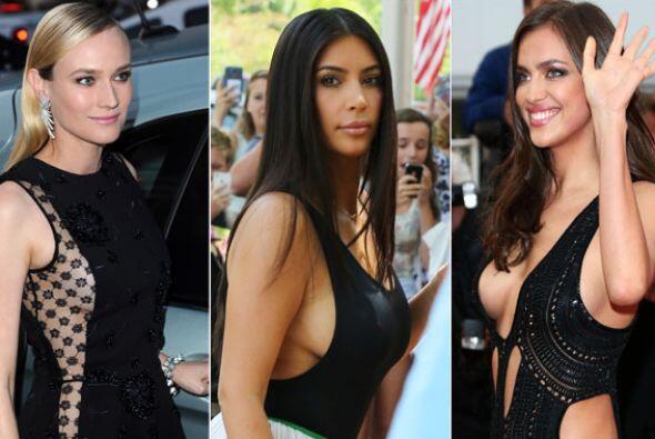 El side boob se ha vuelto una manera de enseñar de manera 'sexy'...