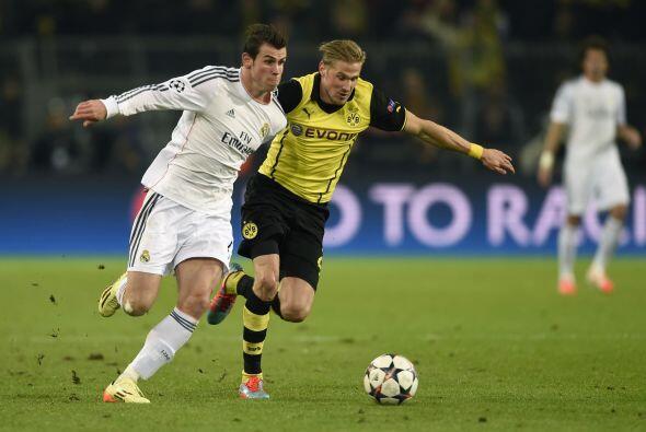 En el otro encuentro el Real Madrid de España visitó el estadio BVB del...