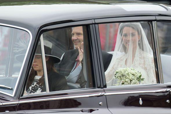 Las primeras imágenes de la novia desataban la locura en la Abad&...