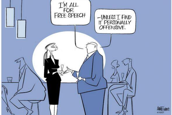 ANN TELNAES - Pushy Pulitzer prize winning editorial cartoonist, editori...