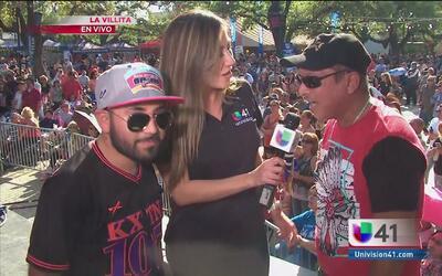 Ambientazo en el cierre del festival Univision Fan Fair