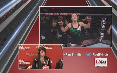 La peleadora Alexa Grasso habla de sus entrenamientos