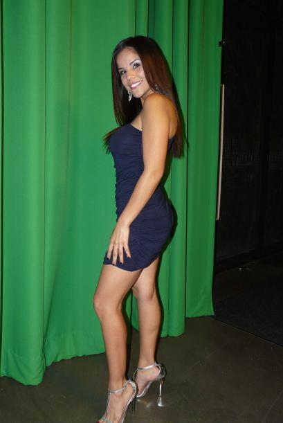 La joven oriunda de Houston participó en Nuestra Belleza Latina.