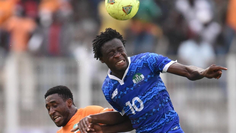 Kei Kamara con la selección de Sierra Leona