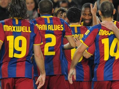 Barcelona consiguió un nuevo triunfo en la Liga y sigue como punt...